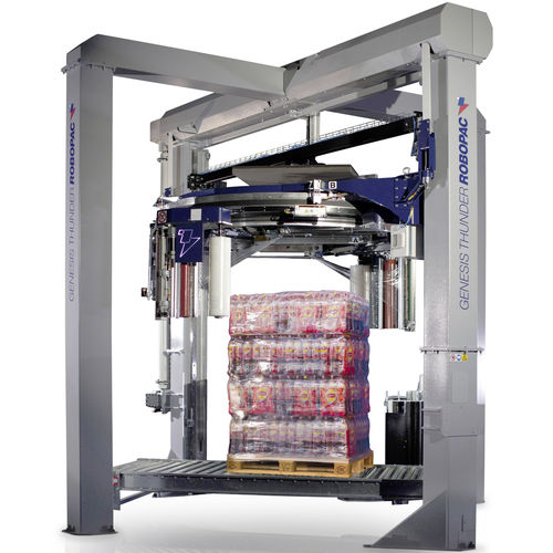 vertical stretch wrapper / automatic / for industrial applications / high-speed