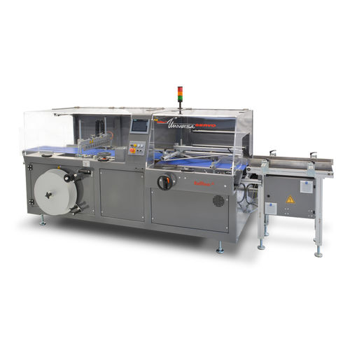 side-sealer shrink wrapper / fully-automatic / for the food and beverage industry / tray