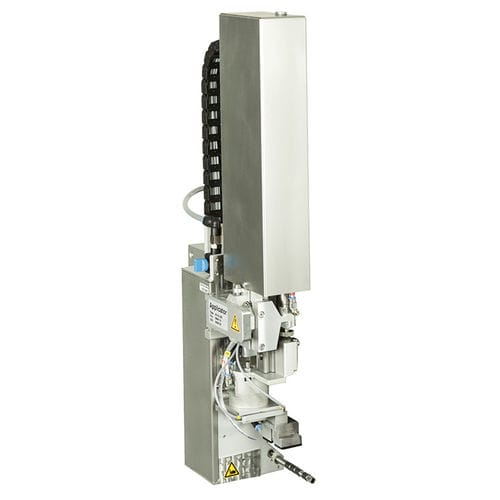 automatic label applicator / for self-adhesive labels / top / side