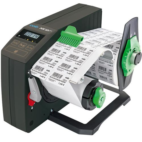 label dispenser / automatic / semi-automatic