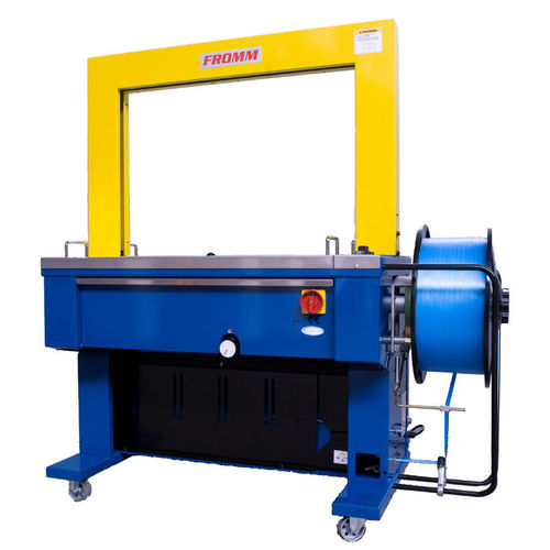 automatic strapping machine / carton / vertical / mobile