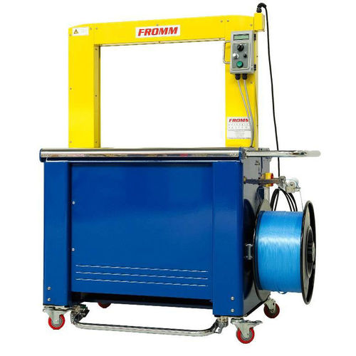 automatic strapping machine / vertical / mobile