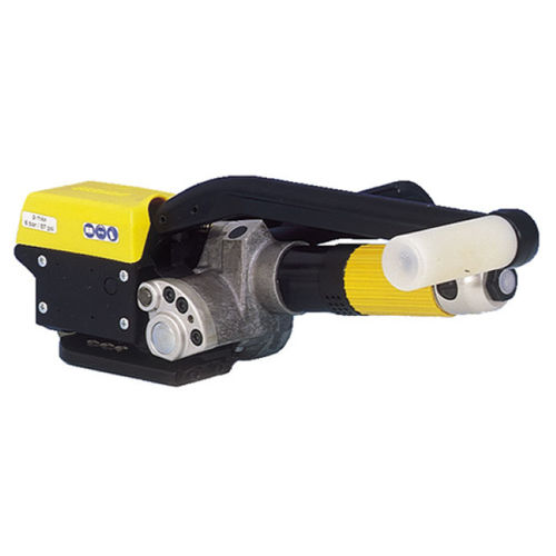 pneumatic strapping tool / for steel straps / semi-automatic