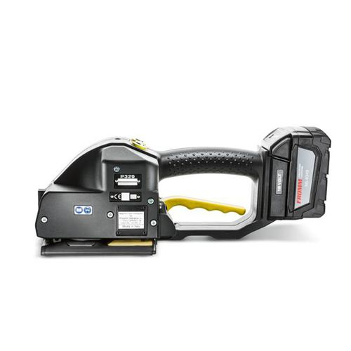 battery-powered strapping tool / for PP-PET straps / semi-automatic