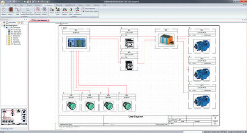 electrical CAD software / electrical schematics / 3D / real-time