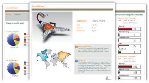 CAD eco-design software / 3D