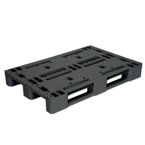 plastic pallet / Euro / industrial / rugged
