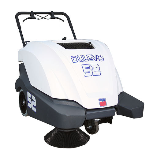 walk-behind sweeper / battery-powered / compact / outdoor