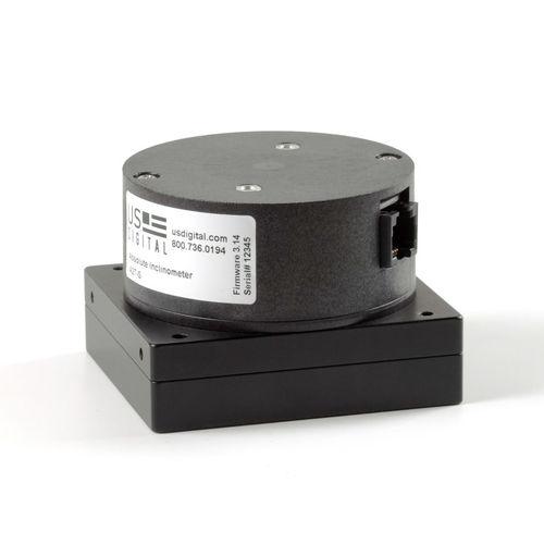 optical inclinometer / single-axis / digital