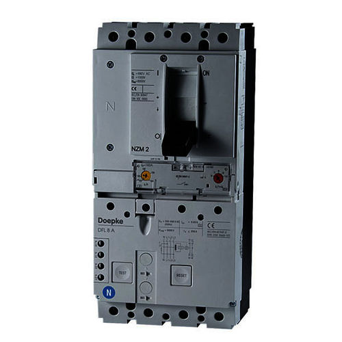 thermal circuit breaker / residual current / 4-pole / automatic