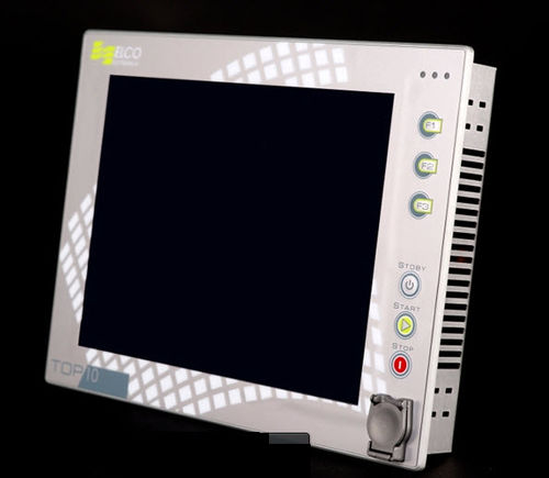 HMI with touch screen / with keyboard / panel-mount / programmable
