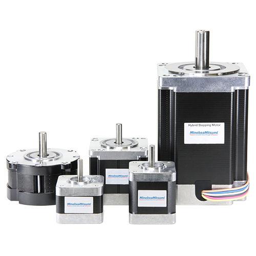 stepper motor / DC / high-speed / integrated-drive