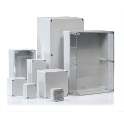 built-in enclosure / rectangular / ABS / polycarbonate
