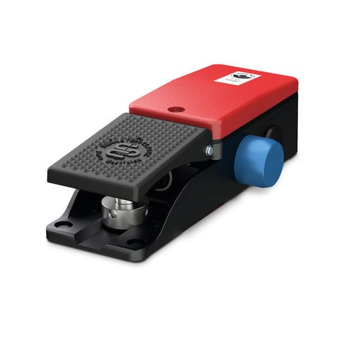 control foot switch / single pedal / with cover / rugged