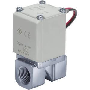 direct-operated solenoid valve / 2-way / normally open / normally closed