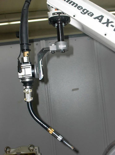 MIG welding torch / water-cooled / robotic
