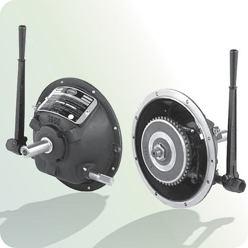 disc clutch / manual / mechanical / with bearings