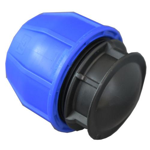 non-threaded end cap
