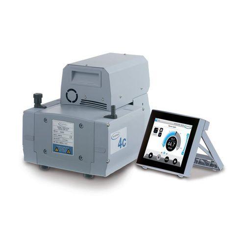 diaphragm vacuum pump / dry / three-stage / chemical-resistant