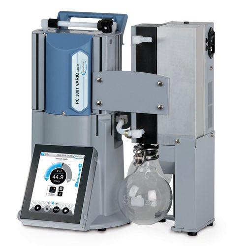 diaphragm vacuum pump / dry / three-stage / compact