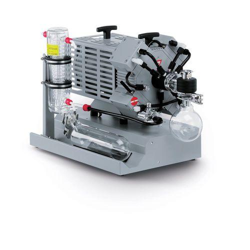 diaphragm vacuum pump / oil-free / three-stage / compact
