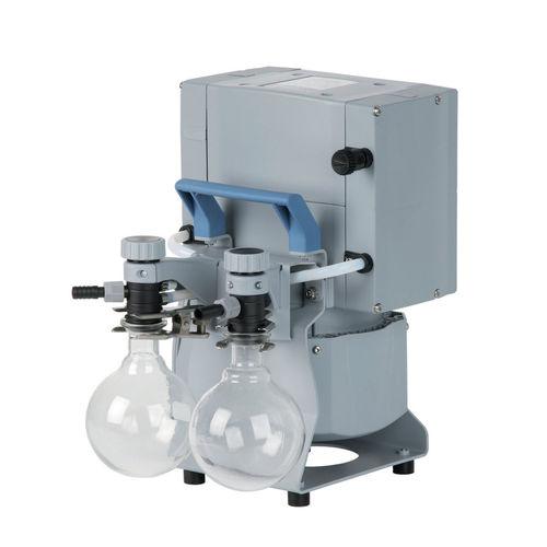 diaphragm vacuum pump / oil-free / three-stage / low-noise level