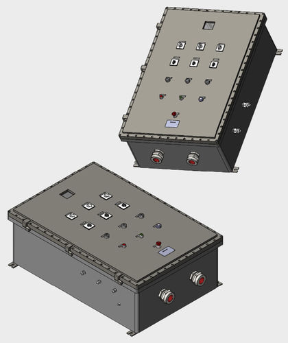 13-button control station box