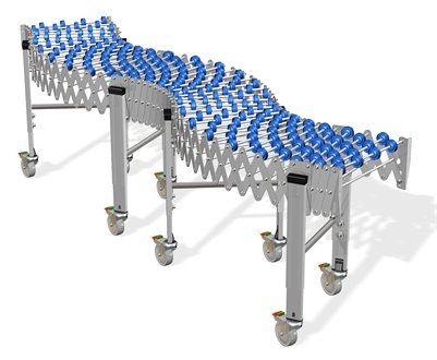 skate wheel conveyor / gravity