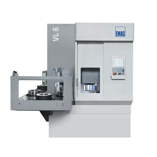 CNC turning machine / vertical / 2-axis / 3-axis