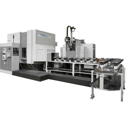 CNC gear-hobbing machine / vertical