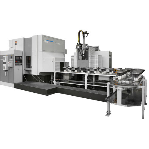 CNC gear-hobbing machine / vertical