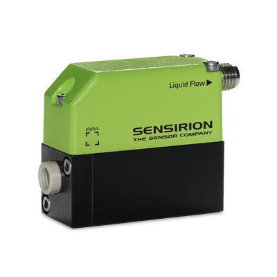 thermal flow meter / for liquids / digital / precision