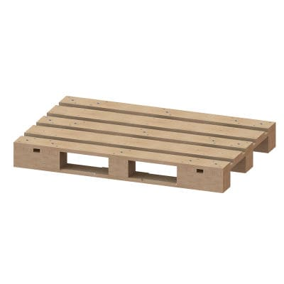 wooden pallet / Euro / storage / for heavy loads