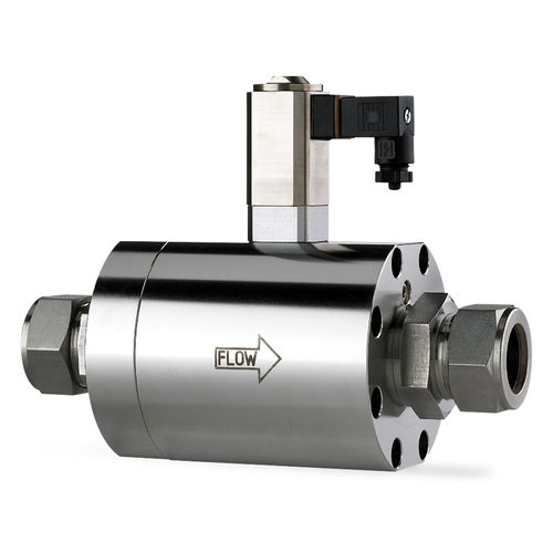 pressure-control valve / flow control / for gas / proportional