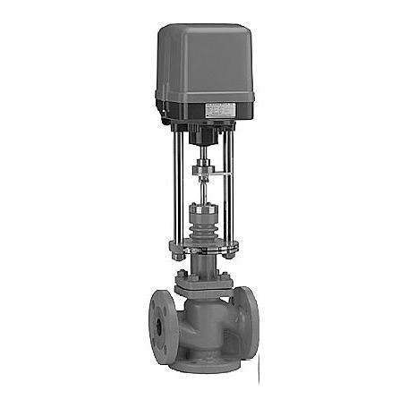 globe valve / electrically-operated / regulating / for gas