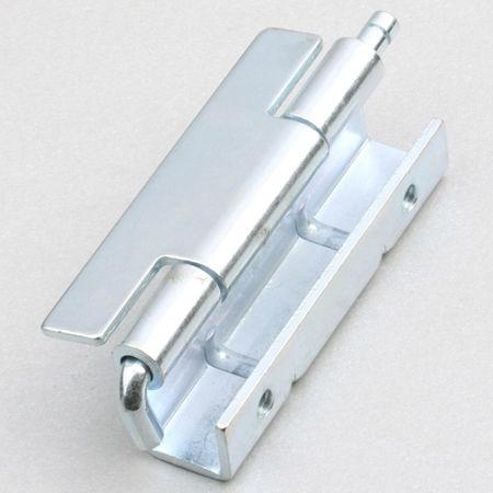 steel hinge / concealed / screw-in / 110°