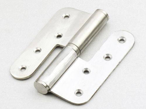 stainless steel hinge / steel / piano / screw-in