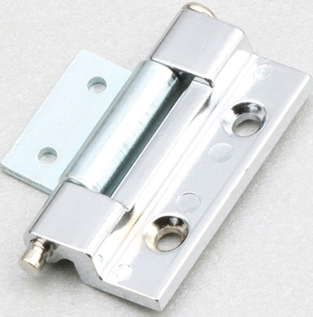 zinc-coated steel hinge / concealed / screw-in / 120°