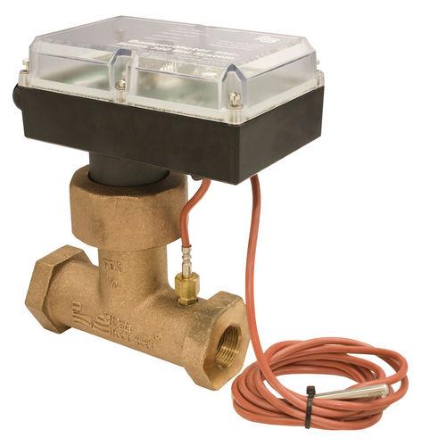 impeller flow sensor / thermal / gas / for liquids
