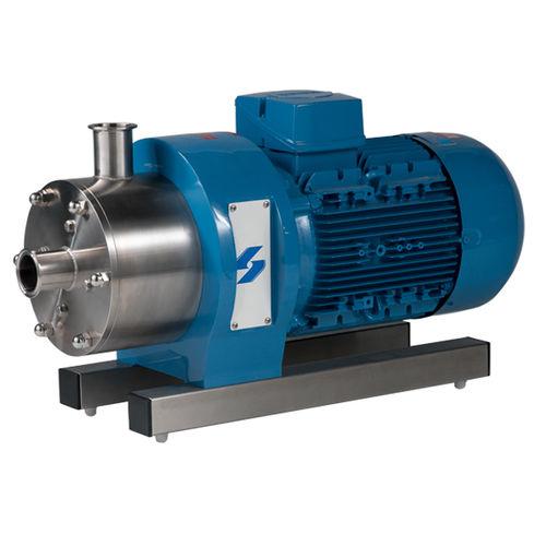 turbine homogenizer / in-line / high-pressure / high-shear