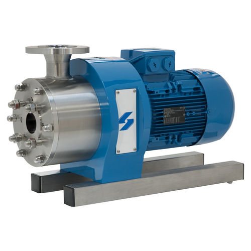 dynamic mixer / in-line / solid/liquid / high-speed