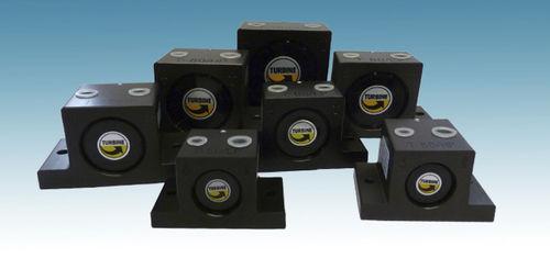 turbine vibrator / pneumatic / multi-product / for hoppers