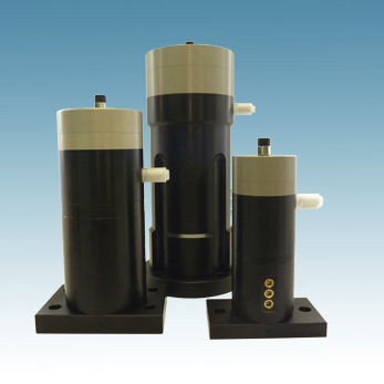 pneumatic vibrator / for hoppers / for silos / container