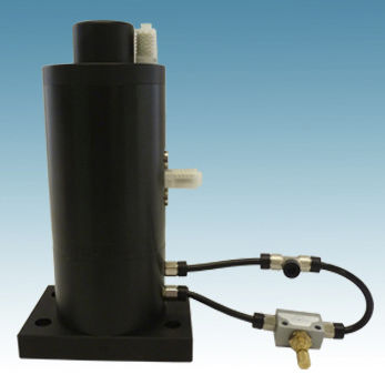 pneumatic vibrator / automatic / for hoppers / for silos