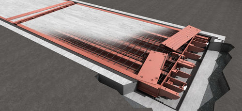 truck weighbridge / for vehicles / concrete / modular