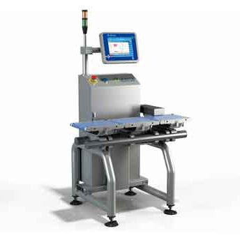 automatic machine checkweigher / with touchscreen controls