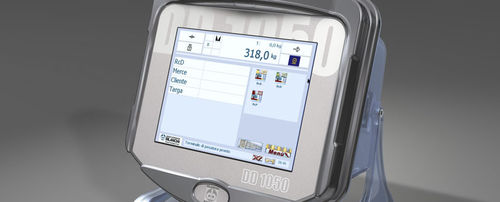 weighing terminal with LCD graphic display / with touchscreen / benchtop / wall-mount