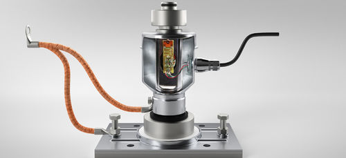 compression load cell / canister / stainless steel / analog