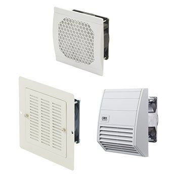 electrical cabinet fan / axial / cooling / exhaust