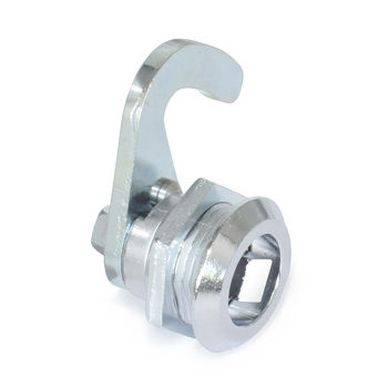 push-to-close latch / stainless steel / rotary / sliding door